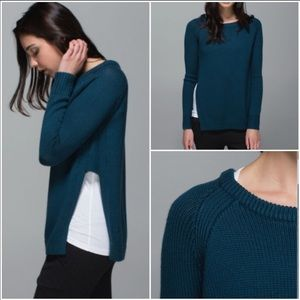New Lululemon | Yin To You Merino Wool Sweater